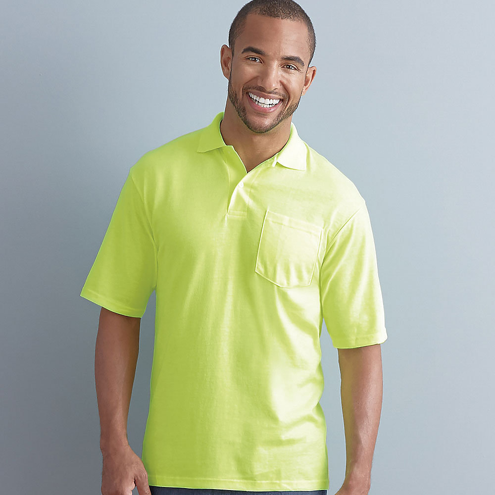 5d1a892628e Jerzees 436MP 50/50 Pocket Sport Shirt with SpotShield $8.20 - Men's ...