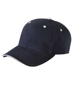 Yupoong 6262S  Brushed Cotton Twill 6-Panel Mid-Profile ...
