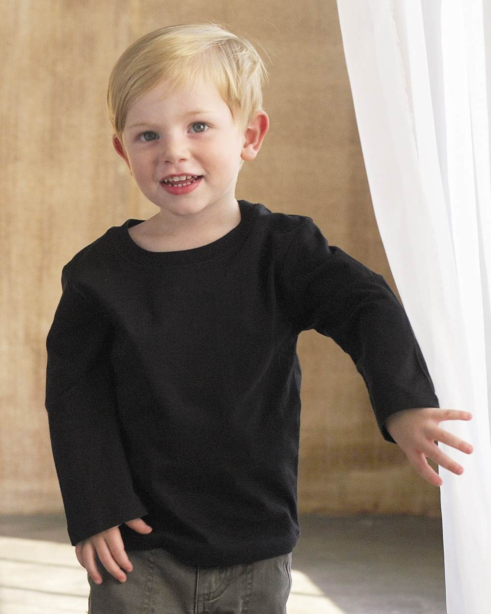 Bella 205 toddler long sleeve jersey tee