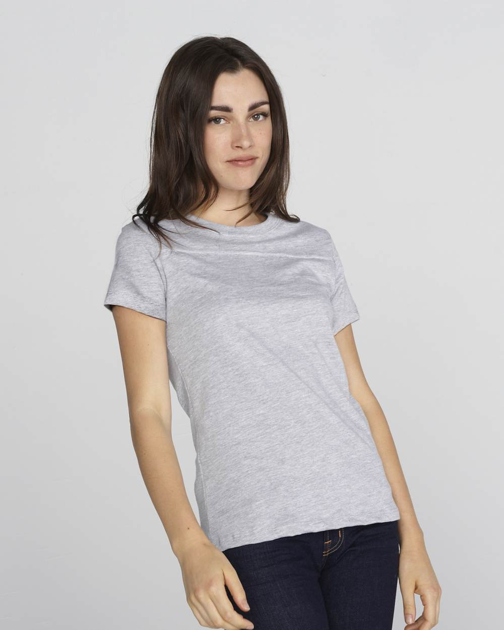 Bella 6010 Ladies short sleeve yoke tee