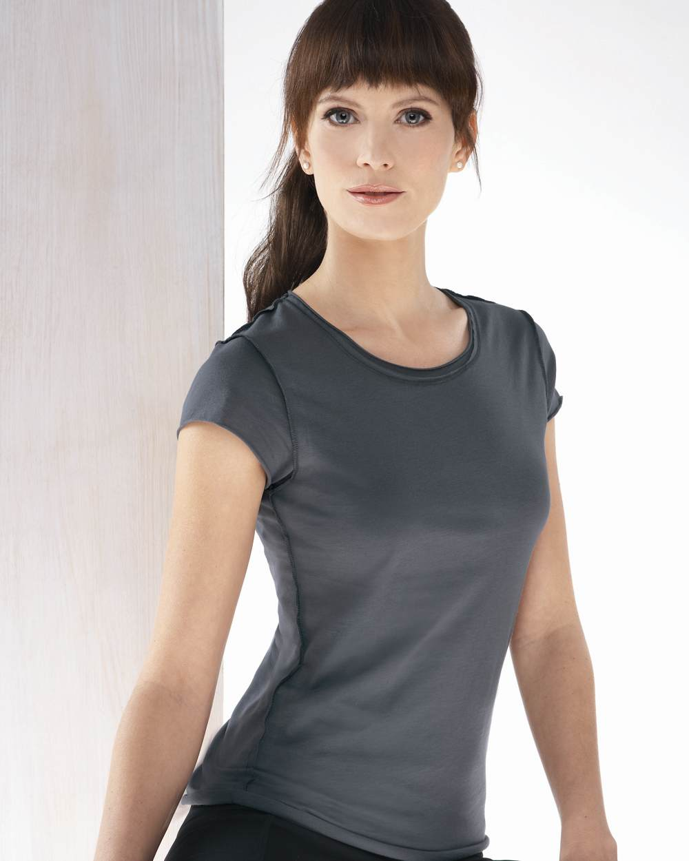 Bella 8401 natasha inside out tee
