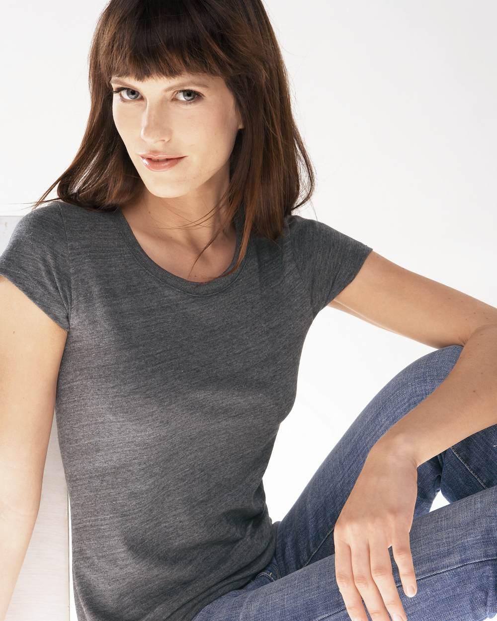 Bella 贝拉 8413-女士混纺短袖T恤