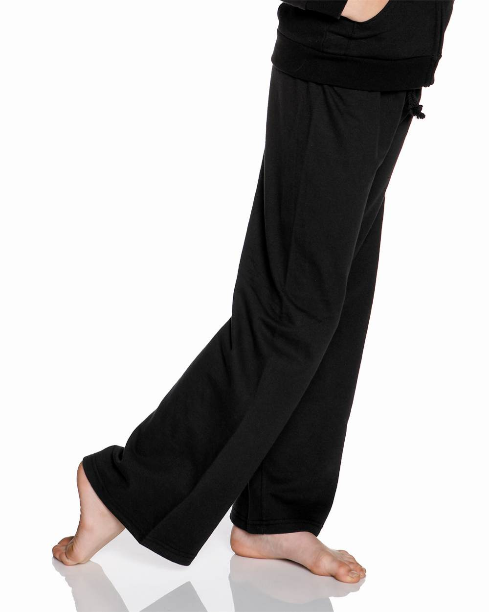 Bella 9017 fleece straight leg sweatpant