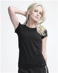 alo W1001 Ladies' T-Shirt with Mesh Panels