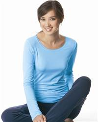 alo W3004 Ladies' Long Sleeve Bamboo T-Shirt