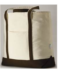 Anvil 431 Organic 100% Organic Canvas Boater Tote