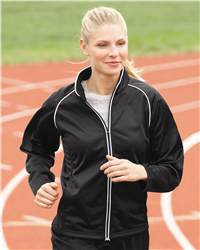 Augusta Sportswear 4340 Ladies' Brushed Tricot Jacket