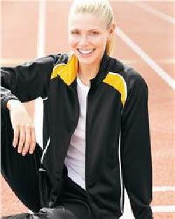 Augusta Sportswear 4382 Ladies' Tri-Color Jacket