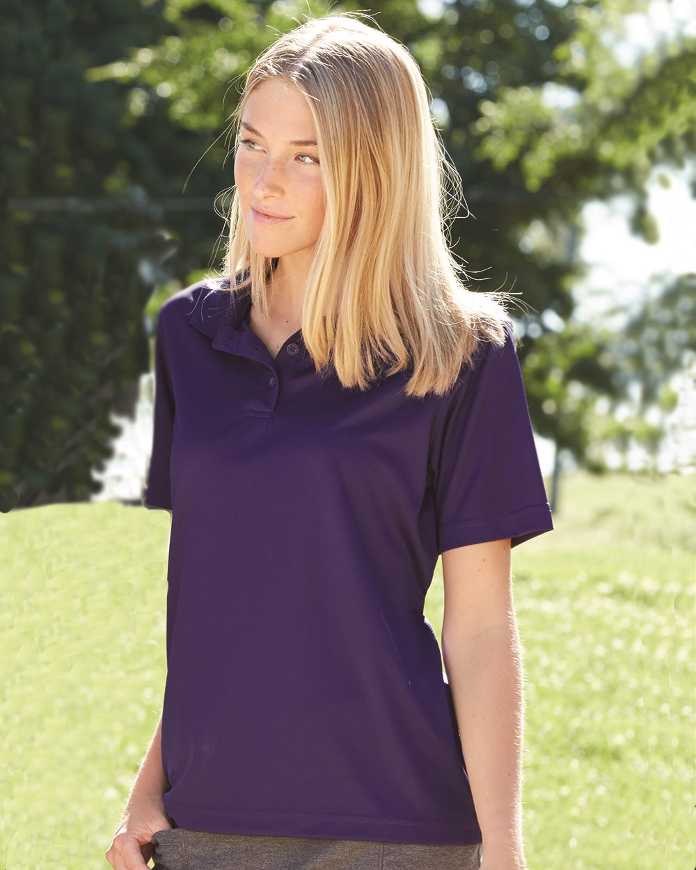 Augusta Sportswear 5097 Ladies' Wicking Mesh Sport Shirt