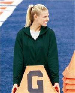 Augusta Sportswear 5525 女士灯芯磨毛布连帽运动衫