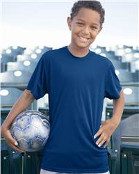 Badger Sport 2120 Youth B-Dry Core T-Shirt with Sport ...