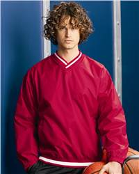 Badger Sport 7611 Nylon V-Neck Windshirt