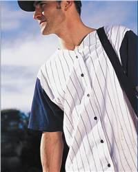 Badger Sport 7823 Pinstripe Baseball Jersey