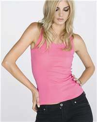 bella 4000 Ladies' 2x1 Rib Tank Top