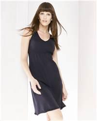 bella 8207 Ladies' Ann Sleeveless V-Neck T-Shirt Dress