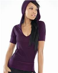 Bella 8431 Ladies' Jodie Tri-Blend 1/2 Sleeve Hoodie