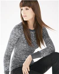 Bella 8600 Ladies' Eva Burnout Thermal Shirt