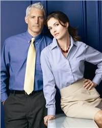 Bill Blass BBP6857 DuPont Teflon Finish Wrinkle-Free Pinpoint Shirt