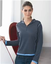 Boardroom Gleice WB5106 Ladies' Tipped Drytech Hooded Pullover