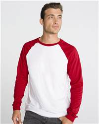 Canvas 3000 Long Sleeve Raglan Hawthorne Baseball T-...