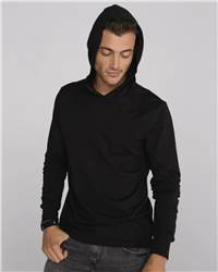 Canvas 3512 Unisex Driftwood Long Sleeve Hooded T-Shirt
