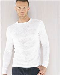 Canvas 3600 Larchmont Burnout Thermal Shirt