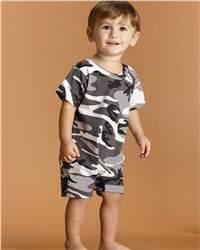 Code V 4415 Infant Camouflage T-Romper