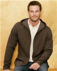 Colorado Clothing 0534 Soybu Vintage Full-Zip Hooded Sweatshirt