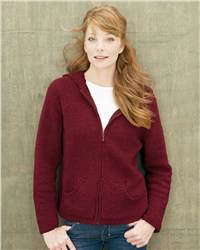 Colorado Clothing 28304 Ladies' Original Micro Chenille Full-Zip Hooded Cardigan