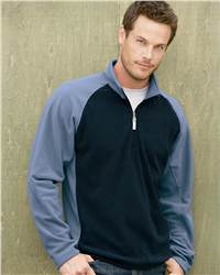 Colorado Clothing 9960 Lightweight Colorblocked Microfleece 1/4 Zip Pullover