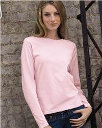 Comfort Colors 3014 Pigment Dyed Ladies' Long Sleeve ...