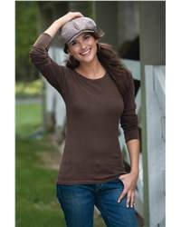 Comfort Colors 7015 Ladies'  Long Sleeve Thermal T-Shirt