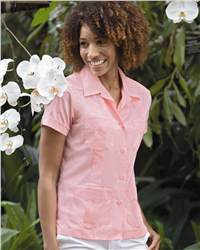 Cubavera C6SW0100 Ladies' Guayabera Camp Shirt
