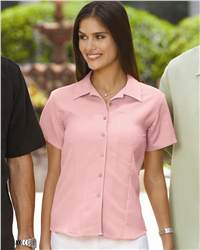 Cubavera CW407 Ladies' Bedford Cord Camp Shirt