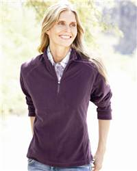 DRI DUCK 9397 Fusion Ladies' 1/4 Zip Nano-Fleece Pullover
