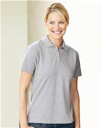 FeatherLite 5330 Ladies' Short Sleeve Platinum Pique Sport Shirt