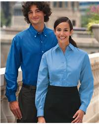 FeatherLite 7231 Long Sleeve Oxford Tall Sizes