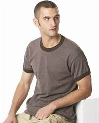 Gildan 2100 Ultra Cotton Heather Ringer T-Shirt