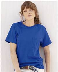 Hanes 5590 TAGLESS 6.0 T-Shirt with a Pocket