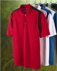 IZOD 13Z0095 Performance Sport Shirt with Contrast Color ...