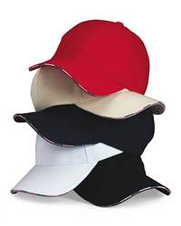 KATI AM924 Cap with American Flag Contrast Bill
