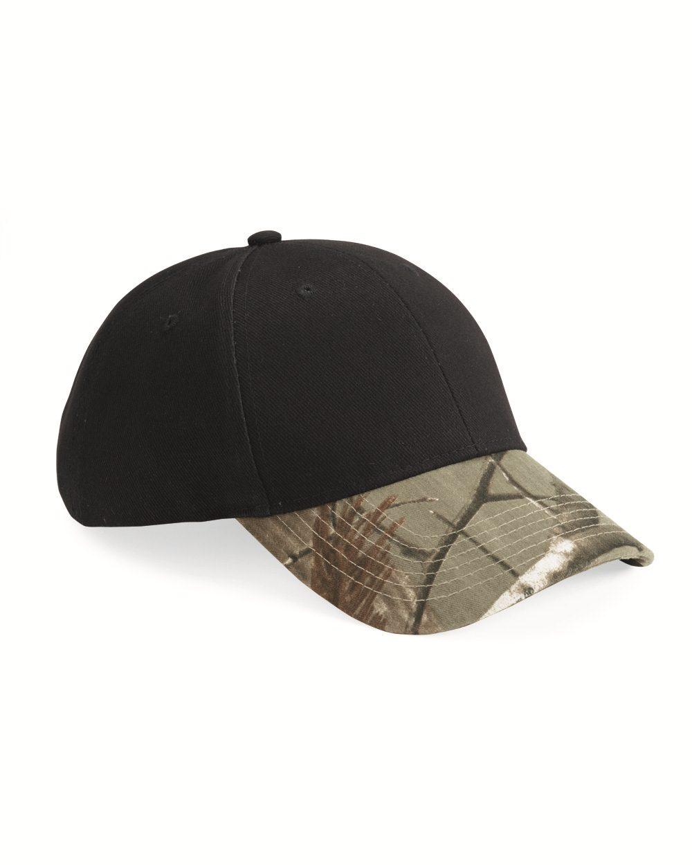 KATI MO25纯色冠顶迷彩帽檐帽子