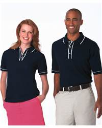 Munsingwear 27100 Ladies' Original Piped Performance Tipped Sport Shirt