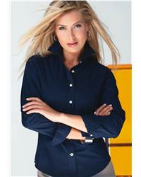 Nyne NLS6128 Ladies' COOLMAX Solid Poplin Shirt