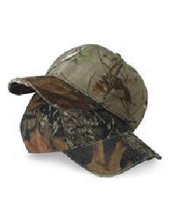 Outdoor Cap CW220 Torn Visor Camouflage Cap