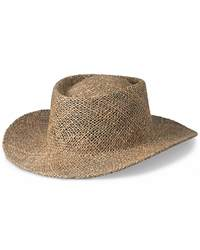 Peter Grimm PG81 Gambler Straw Hat with Underbrim