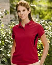 PGA Tour P8SK0008 Ladies' Performance Mesh Sport Shirt