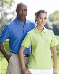 PGA Tour Z5SK0031 Ladies' Solid Pique Sport Shirt