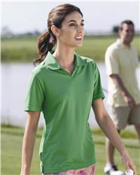 PGA Tour Z7SK0006 Ladies' Performance Poly Mesh Sport Shirt