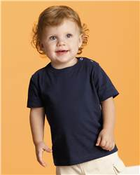 "Rabbit Skins 3002 ""Softy"" Infant Snap Shoulder T-Shirt"